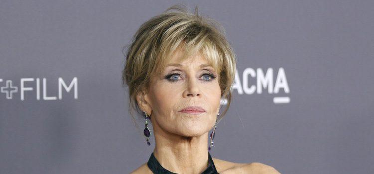 Jane Fonda con un beauty look perfecto