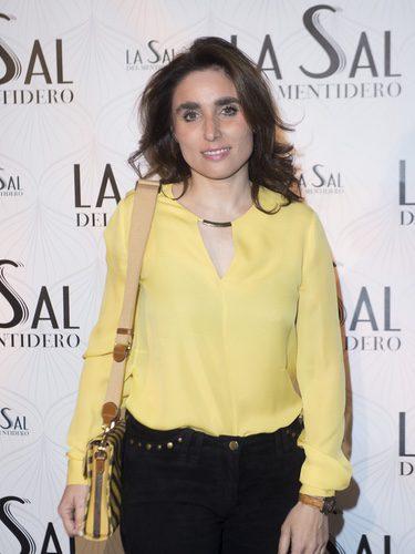 Paloma Segrelles con las cejas despeinadas