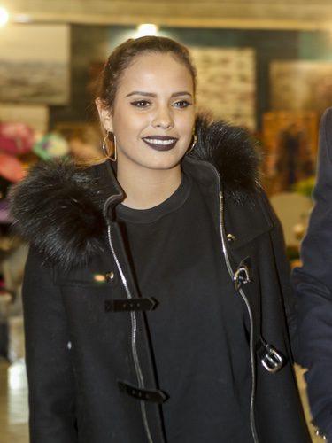 Gloria Camila Ortega con unos labios llamativos