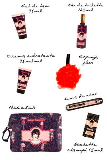 Los productos de la línea 'Báilame el agua' de Dolores Promesas