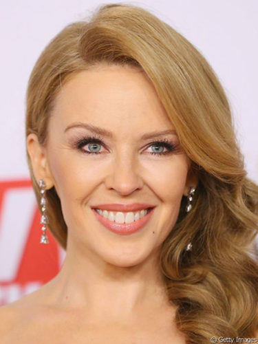 Kylie Minogue, con ondas