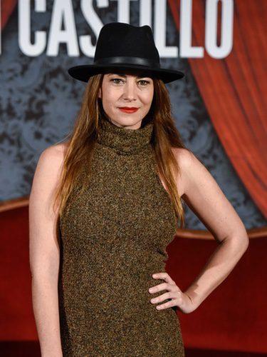 Sandra Collantes con sombrero