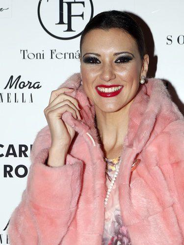María Jesús Ruiz con exceso de maquillaje