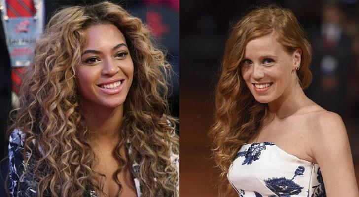 Beyoncé (izquierda) y María Castro (derecha)