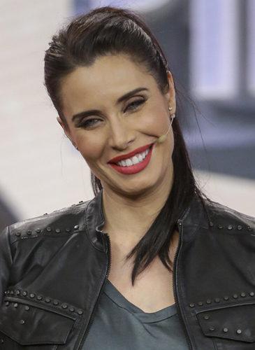 Pilar Rubio, con coleta en 'El Hormiguero'