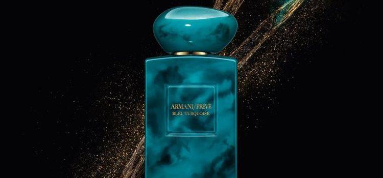 Fragancia 'Bleu Turquoise' de Armani Privé