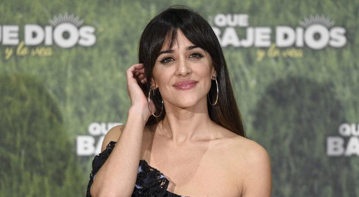 Macarena García, en la promoción de