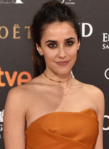 Macarena García, en los Premios Goya de 2017
