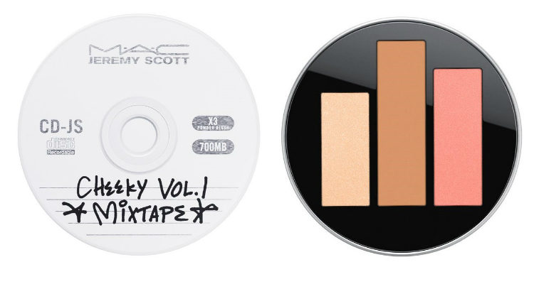 'Acoustica Cheek Palette', la paleta para el rostro de 'MAC x Jeremy Scott'