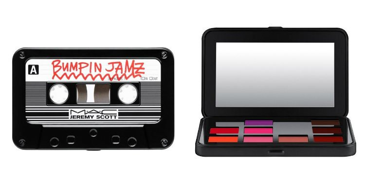 'Future Emotion Lip Palette', la paleta de labiales de 'MAC x Jeremy Scott'