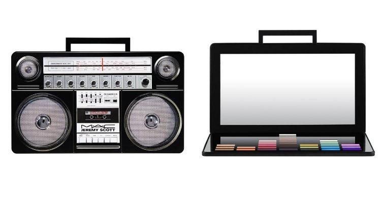 'Lo-Fi Eye Shadow Palette', la paleta de sombras de ojos de 'MAC x Jeremy Scott'