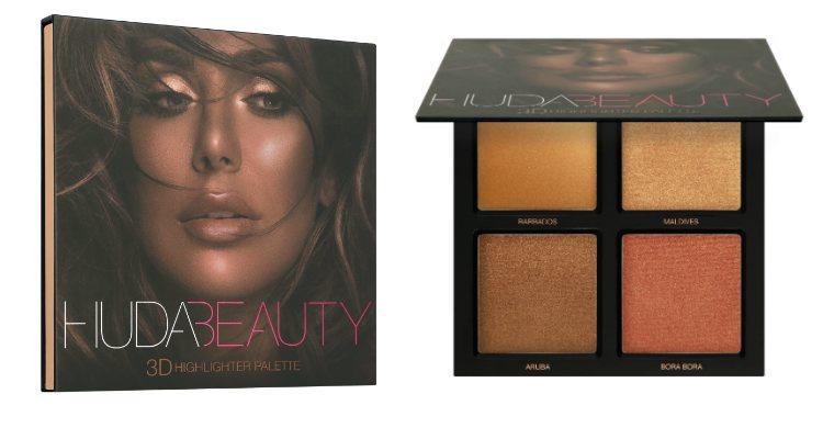 'Bronze Sands' es la quinta paleta de iluminadores de Huda Beauty