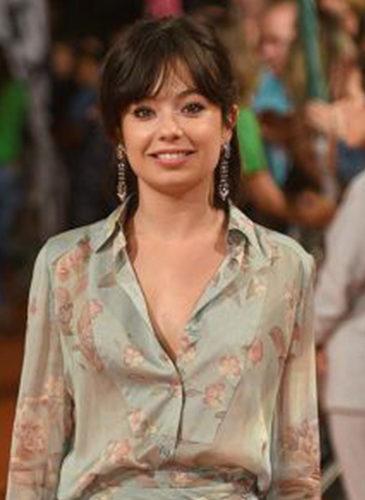 Anna Castillo, en el FesTVal de Vitoria