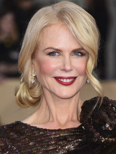El recogido bajo de Nicole Kidman