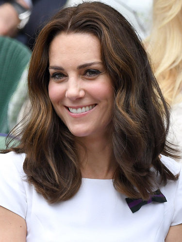 Kate Middleton, con melena midi