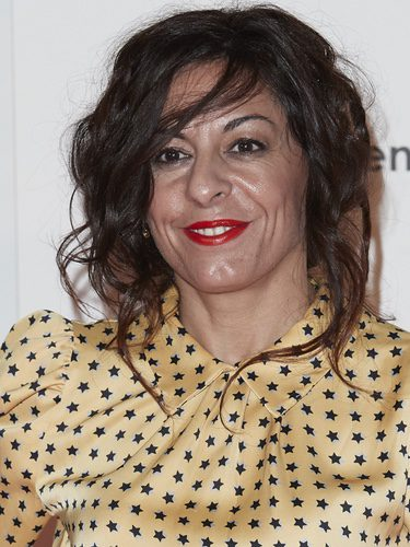 Cristina Medina un recogido desfavorecedor