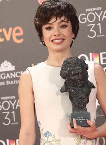 Anna Castillo, en los Premios Goya 2017