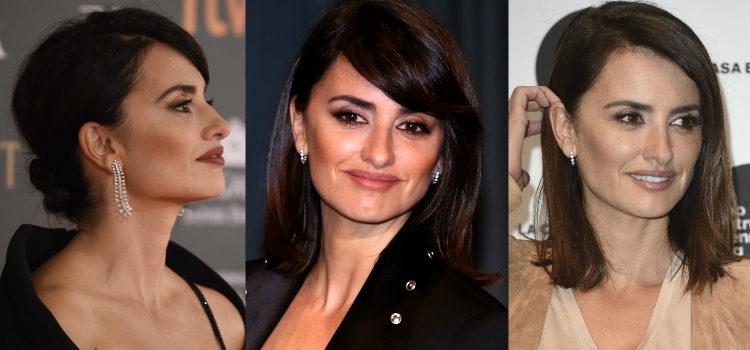 Para esculpir el rostro la actriz apuesta por los polvos bronceadores