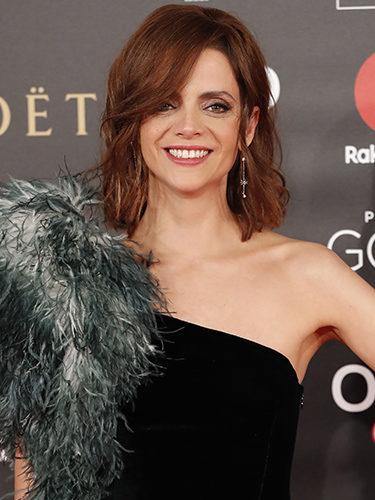 Macarena Gómez, en los Premios Goya 2018