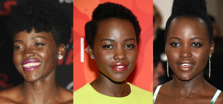 Una piel hidratada y luminosa es clave para conseguir un look al estilo Lupita Nyong'o