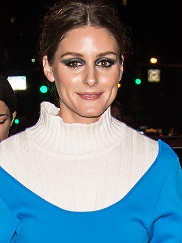Olivia Palermo con una sombra de ojos demasiado oscura