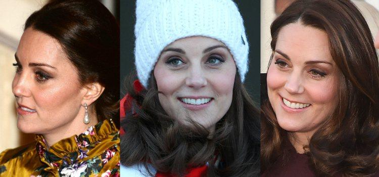 Un look de ojos en tonos neutros y eyeliner es siempre uno de los preferidos de la Duquesa de Cambridge