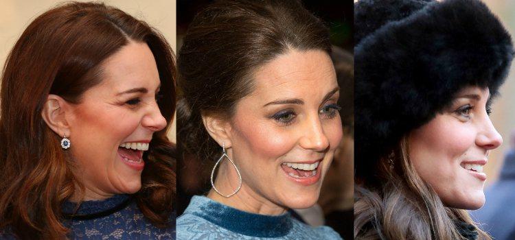 El colorete se convierte en la manera perfecta de esculpir el rostro en los looks de Kate Middleton