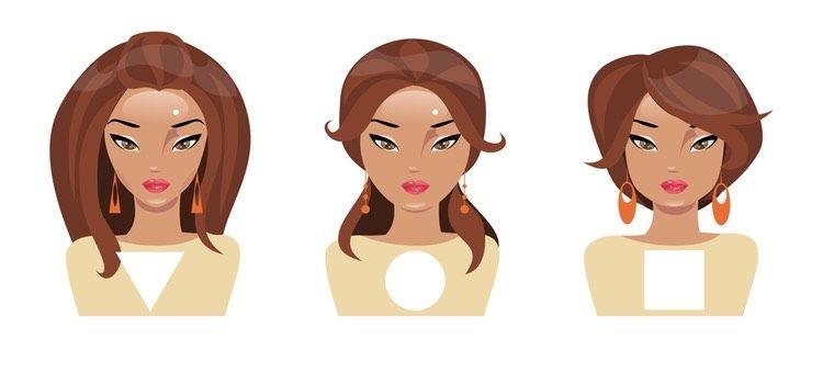 Existen diferentes tipos de rostro según su forma