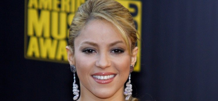Shakira es una de las celebs con rostro en forma de triángulo invertido