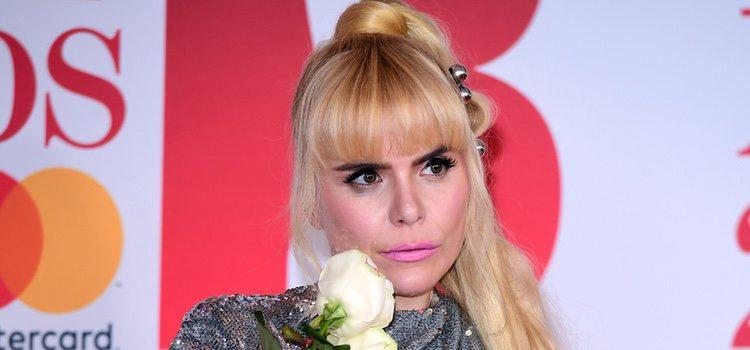 Paloma Faith </p><p> con un labial rosa