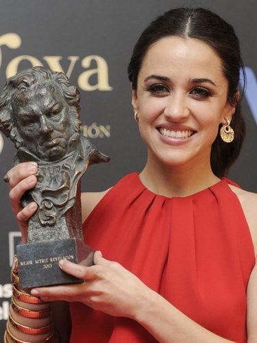 Macarena García, en los Premos Goya 2013