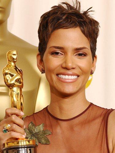 Halle Berry, en los Premios Oscar 2002