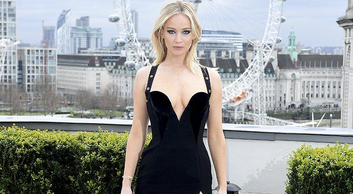 Jennifer Lawrence y su polémico vestido