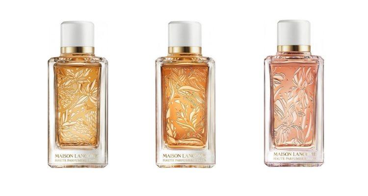 Las tres nuevas fragancias unisex de Maison Lancôme