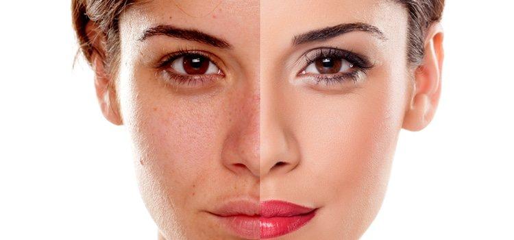 Usa siempre tu base igual a tu tonalidad de piel