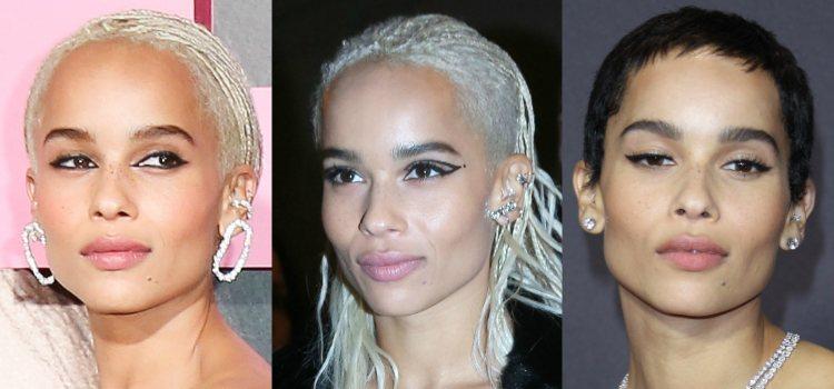 Para destacar la mirada la actriz apuesta por el eyeliner