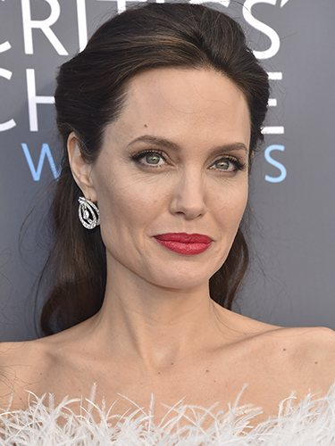 Angelina Jolie, en los Critics' Choice Awards 2018