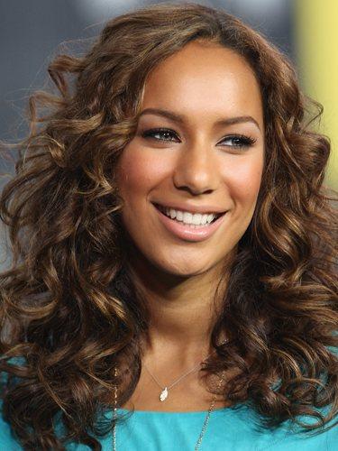 Leona Lewis, en un evento de MTV