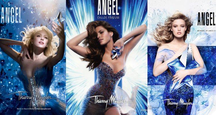 Naomi Watts, Eva Mendes y Georgia May Jagger, imagen de 'Angel' de Thierry Mugler