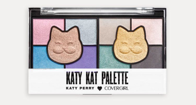'Cook Kat', la paleta eyeshadow de tonos fríos de Katy Perry x Covergirl
