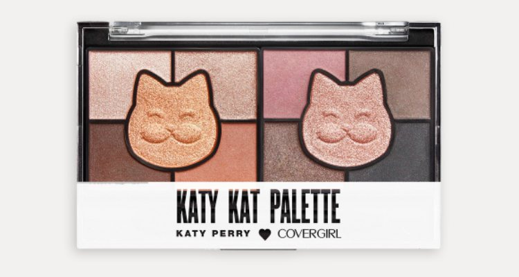 'Hot Kat', la paleta eyeshadow de tonos cálidos de Katy Perry x Covergirl
