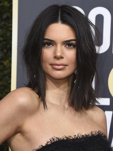 Kendall Jenner, en los Globos de Oro de 2018