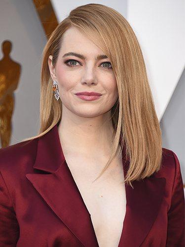 Emma Stone, en los Premios Oscar 2018