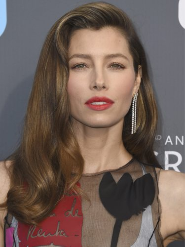 Jessica Biel, en los Critic's Choice Awards 2018