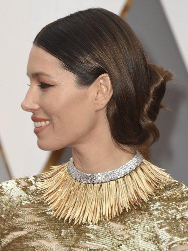 Jessica Biel, en los Premios Oscar 2017