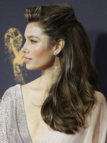Jessical Biel, en los Premios Emmy 2017