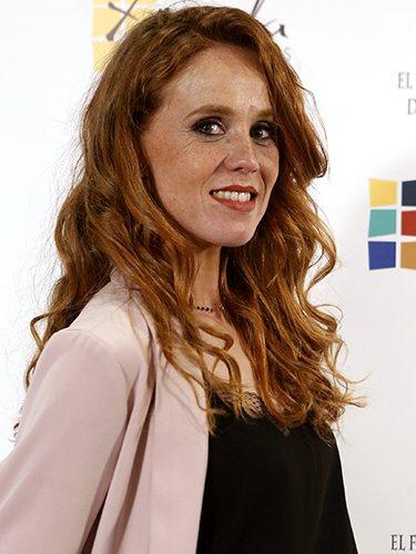 María Castro, con su peinado clásico
