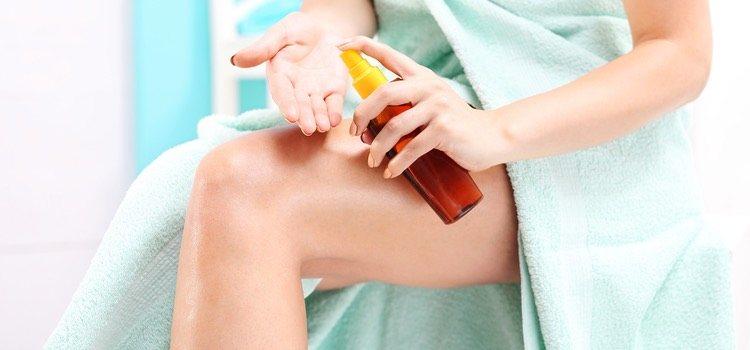 Los aceites resultan muy efectivos para las pieles secas