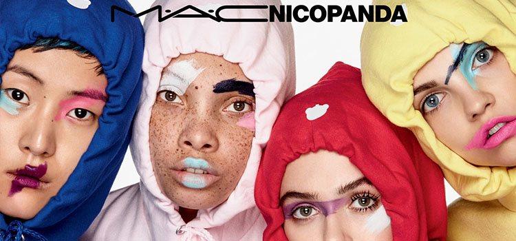 La estética de Nicopanda se ha sabido traducir a la perfección al mundo del maquillaje