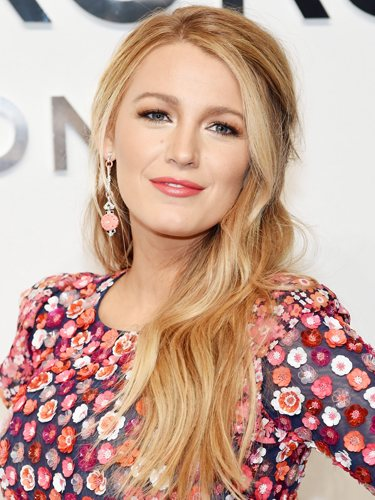 Blake Lively, en Nueva York Fashion Week